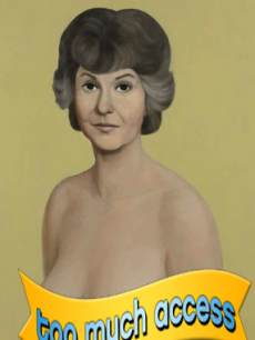 John Currin's painting of Bea Arthur which sold for 1.95 million at an auction at Christie's on May 15, 2013