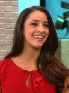 Aly Raisman on Access Hollywood Live