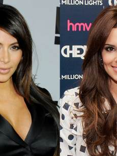 Kim Kardashian, Cheryl Cole