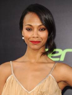 Zoe Saldana attends the premiere of &#8216;Star Trek Into Darkness&#8217; at Dolby Theatre on May 14, 2013 in Hollywood
