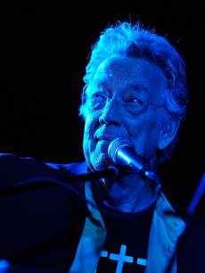 Ray Manzarek of The Doors performs at the 5th Annual Sunset Strip Music Festival official VIP party sponsored by Black Star Beer and Virgin America at Sky Bar, Mondrian Hotel, West Hollywood, on August 17, 2012