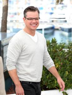 Matt Damon attends the photocall for 'Behind the Candelabra' at The 66th Annual Cannes Film Festival on May 21, 2013 in Cannes, France