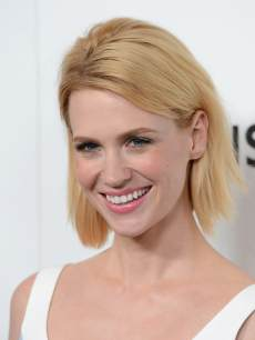 January Jones arrives at the premiere of AMC's 'Mad Men' Season 6 at DGA Theater on March 20, 2013 in Los Angeles