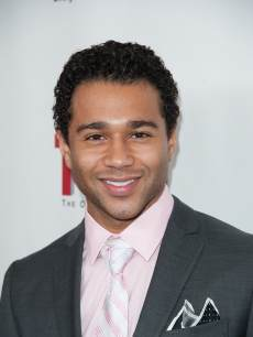 Corbin Bleu attends the 'All My Children' & 'One Life To Live' premiere at Jack H. Skirball Center for the Performing Arts in New York City on April 23, 2013