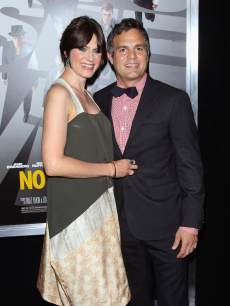 Mark Ruffalo and wife Sunrise Coigney attend the 'Now You See Me' premiere at AMC Lincoln Square Theater on May 21, 2013 in New York City