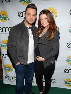 Nick Swisher and JoAnna Garcia Swisher attend Celebrities and the EMA Help Green Works Launch New Campaign at Sur Restaurant on January 23, 2013 in Los Angeles