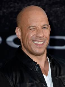 Vin Diesel arrives at the premiere of 'Fast & Furious 6' on May 21, 2013 in Universal City, Calif.