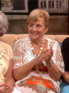 'Golden Sisters' stars Teresa, Mary and Josie on Access Hollywood Live on  May 22, 2013 (inset:Shia LaBeouf)