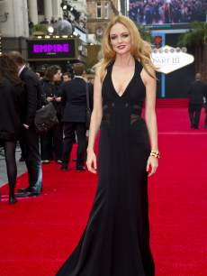 Heather Graham arrives at the UK Premiere of 'The Hangover III' at The Empire Cinema on May 22, 2013 in London