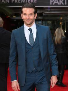 Bradley Cooper arrives at the UK Premiere of 'The Hangover III' at The Empire Cinema on May 22, 2013 in London