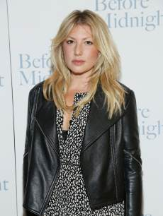 Ari Graynor attends 'Before Midnight' New York Screening at Crosby Street Hotel on May 15, 2013