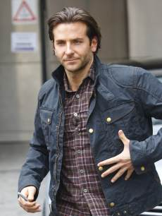 Bradley Cooper is spotted departing BBC Radio One on May 23, 2013 in London