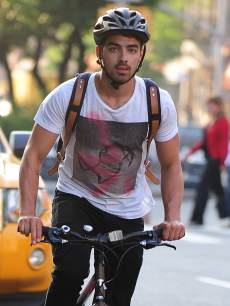 Joe Jonas is seen in Soho on May 22, 2013 in New York City