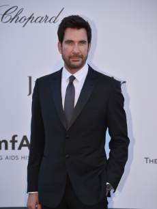 Dylan McDermott poses on May 23, 2013 as he arrives for the amfAR's 20th Annual Cinema Against AIDS during the 66th Annual Cannes Film Festival at Hotel du Cap-Eden-Roc in Cap d'Antibes