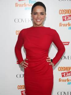 Michelle Rodriguez attends Fun Fearless Latina Awards at Hearst Tower on May 23, 2013 in New York City