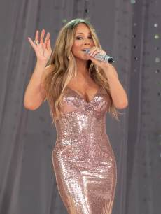 Mariah Carey performs on ABC's 'Good Morning America' at Rumsey Playfield on May 24, 2013 in New York City