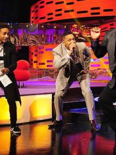 Jaden Smith, Will Smith and Alfonso Ribeiro on 'The Graham Norton Show' May 24, 2013