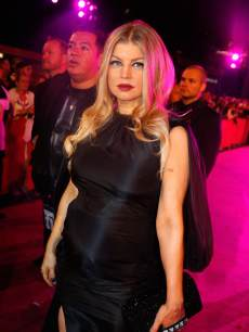 Fergie arrives at the Life Ball 2013 at City Hall in Vienna, Austria on May 25, 2013