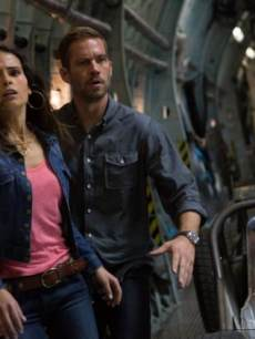 Jordana Brewster and Paul Walker in Universal Pictures 'Fast & Furious 6'