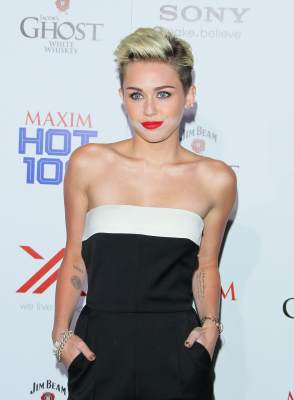 Miley Cyrus attends the Maxim 2013 Hot 100 Party held at Vanguard on May 15, 2013 in Hollywood, Calif.