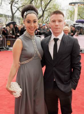 'Game Of Thrones' stars Oona Chaplin (Talisa) and Joe Dempsie (Gendry) attend the Arqiva British Academy Television Awards 2013 at the Royal Festival Hall on May 12, 2013 in London, England