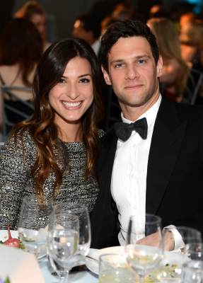Lia Smith and Justin Bartha at The Art of Elysium's 6th Annual HEAVEN Gala on January 12, 2013