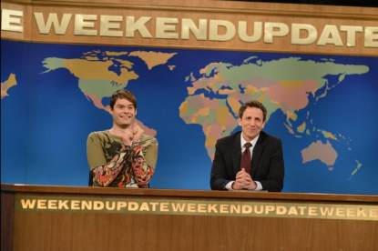 Bill Hader as Stefon on 'Saturday Night Live'