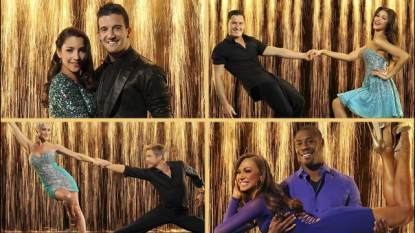 The final 4 from 'Dancing With The Stars'