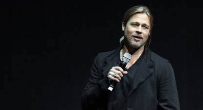 Brad Pitt promotes 'World War Z' - April 2013