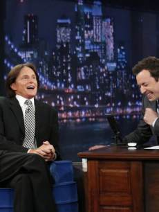 Bruce Jenner visits 'Late Night with Jimmy Fallon'