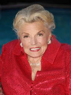 Esther Williams attends TCM's screening of 'Neptune's Daughter' at The Roosevelt Hotel on April 22, 2010 in Hollywood