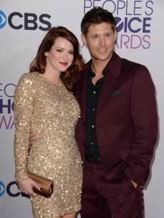 Jensen Ackles and Daneel Harris attend arrive for the 2013 People's Choice Awards at the Nokia Theatre in Los Angeles