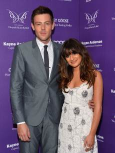 Cory Monteith and Lea Michele at the 12th Chrysalis Butterfly Ball on June 8, 2013 in Los Angeles