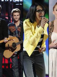 'The Voice' Top 5