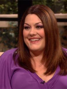 Brooke Elliott from 'Drop Dead Diva' visits Access Hollywood Live, June 17, 2013