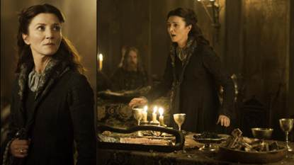 Michelle Fairley as Catelyn Stark in 'Game of Thrones'