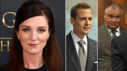 Michelle Fairley, Gabriel Macht, Conleth Hill