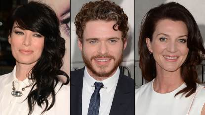 Lena Headey, Richard Madden and Michelle Fairley