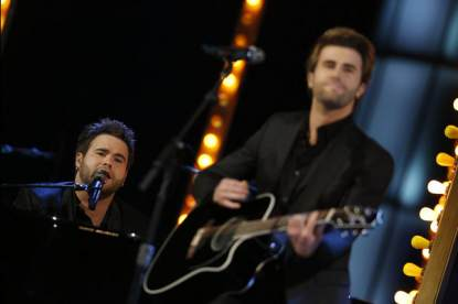 The Swon Brothers perform on 'The Voice,' June 17, 2013