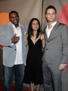 West, Shane - Parminder Nagra - Mekhi Phifer NBC PRESS 1 17 '07 AP