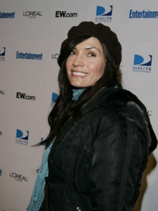 Famke Janssen is all smiles at Sundance