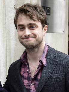 Daniel Radcliffe is seen at BBC Radio One on April 26, 2013 in London