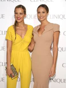 Petra Nemcova and Stacy Keibler attend Dramatically Different Party Hosted By Clinque at 620 Loft & Garden on June 18, 2013 in New York City