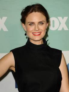 Emily Deschanel attends the FOX All-Star Party on August 1, 2013 in West Hollywood