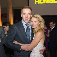 Damian Lewis and Claire Danes attend a premiere screening hosted of 'Homeland' at Corcoran Gallery of Art on September 9, 2013 in Washington D.C.