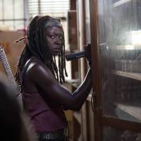 Danai Gurira in a scene from 'The Walking Dead' Season 4, Episode 4