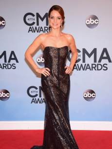 Kimberly Williams-Paisley attends the 47th annual CMA Awards at the Bridgestone Arena on November 6, 2013 in Nashville