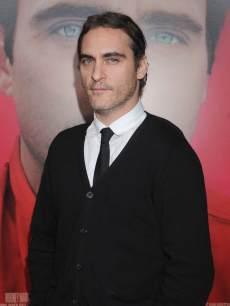 Joaquin Phoenix arrives at the Los Angeles premiere of 'Her' at Directors Guild Of America on December 12, 2013 in Los Angeles