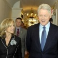 Katie Couric and President Bill Clinton, 2005