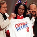 robin williams whoopi goldberg billy crystal comic relief ap 06 01 06